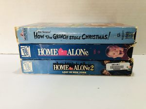 Home alone grinch VHS for Sale in Chula Vista, CA