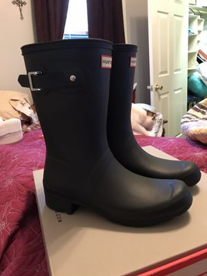 Hunter rain boots (brand new never worn) for Sale in Springfield, TN