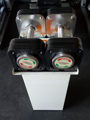 ADJUSTABLE DUMBBELLS WITH STAND for Sale in Riverside, CA