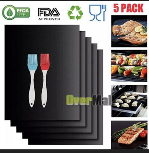 5 pack BBQ grill mat for Sale in Los Angeles, CA