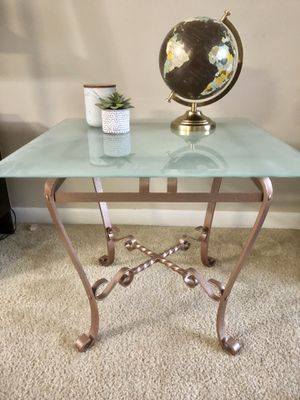 Frosted Glass Coffee Table for Sale in Germantown, MD