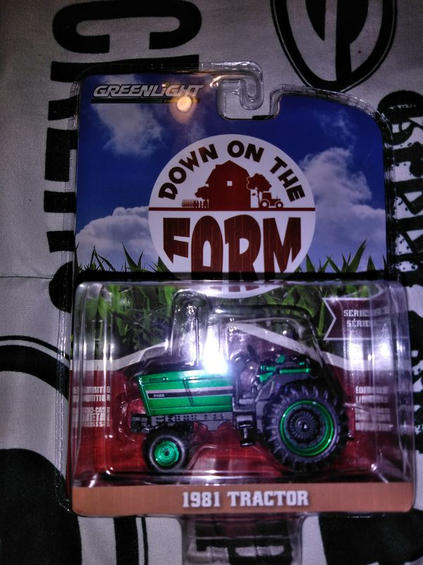 Greenlight chase green machine down on the farm 81 tractor