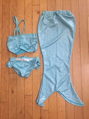 Toddler Girl's Mermaid Costume/Swim Suit 3pcs. NWT for Sale in Bothell, WA