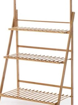Mouton Plant Stands Bamboo Planter 3 Tier for Sale in Bentonville,  AR