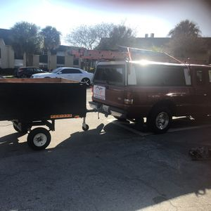 Utility Trailer With Title 5x4 for Sale in Winter Park, FL