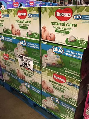 Huggies Baby wipes 1152 count $24.99 for Sale in Ontario, CA