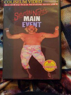 Wwf Saturday nights Main Event 4-1-86 for Sale in Chicago,  IL