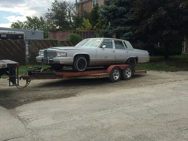 91 cadillac brougham PARTS ONLY  Fleetwood for Sale in Riverside, IL -  OfferUp