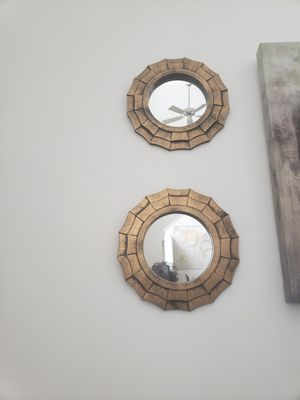Wall Decor- Mirrors for Sale in Baltimore, MD