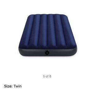 "Intex 8.75"" Classic Downy Inflatable Airbed Mattress, Twin 1999 for Sale in St. Louis, MO"