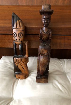 Rare 12 inch wood carvings for Sale in Glenshaw, PA