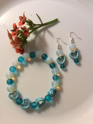Handmade Turquoise Heart Bracelet for Sale in Torrance, CA