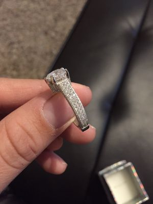 Wedding ring size 7 real silver ! for Sale in Austin, TX