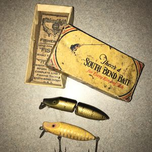 Vintage South Bend Bait Co. Fishing Lures for Sale in Tampa, FL