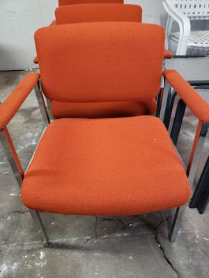 3 Orange chair for Sale in Erie, PA