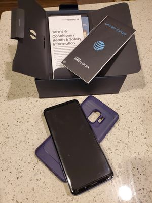 Samsung Galaxy S9 with screen protector and case. for Sale in St. Cloud, FL