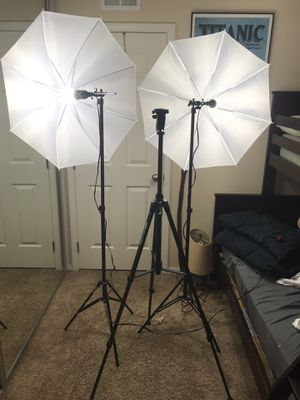 FILMING EQUIPMENT (brand new) for Sale in Santee, CA