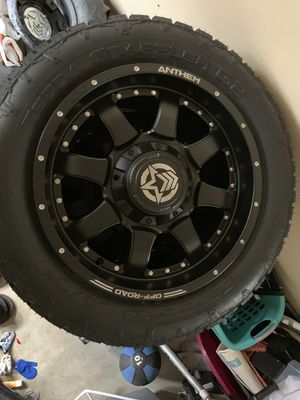 """Anthem 20"""" wheels and tires brand new!! for Sale in Bakersfield, CA"""