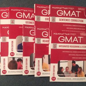 Manhattan Prep GMAT Strategy Guides (Complete Set: 0-9) (6th Edition) for Sale in Oakland, CA