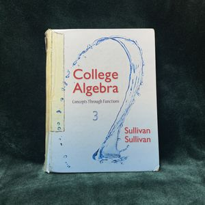 College Algebra: Concepts Through Functions (Third Edition) for Sale in Los Angeles, CA