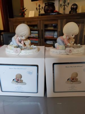 New precious moments growing in grace age 8 for Sale in San Dimas, CA