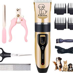 Pakolon Dog Clippers pet electrick Clippers Frequency Adjustment Low Noise USB Charging Pet Grooming Hair Clippers Kit Cat and Dog Clipper Beauty Kits for Sale in Montebello, CA