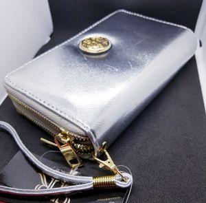 Women's Silver Clutch Wallet by Rebecca & Rifka for Sale in Phoenix, AZ