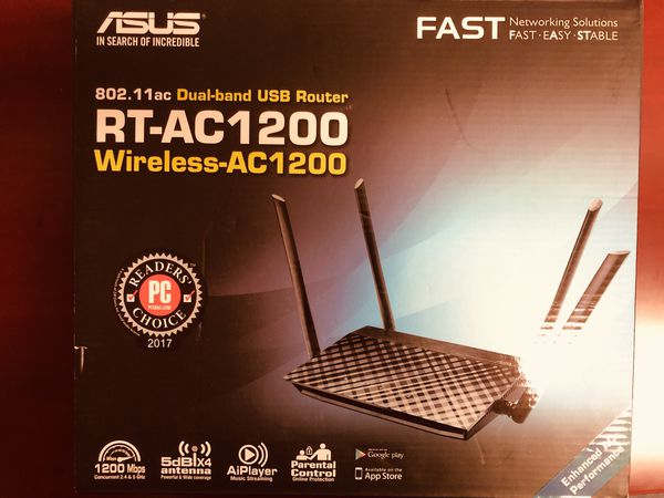 ASUS RT-AC1200 5G 1200M Router