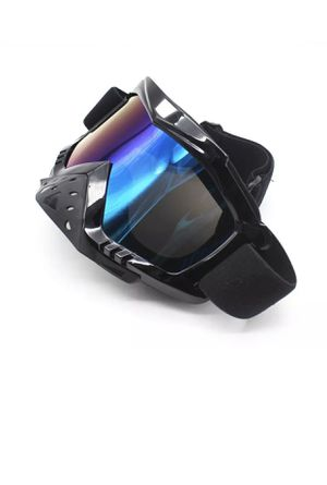 Motocross reflective windproof Goggles For Motorcycle Dirt Bike Racing Goggles brand new never been used for Sale in Anoka, MN
