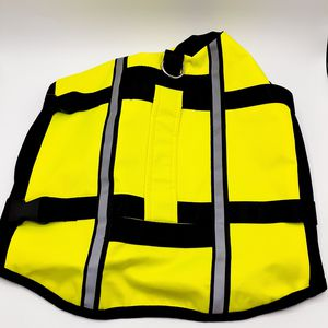 Large Yellow Reflective Dog Safety Vest for Sale in Hazard, CA