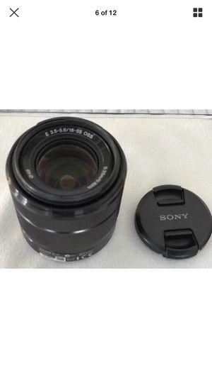Sony 18-55mm emount nex cameras for Sale in Seattle, WA