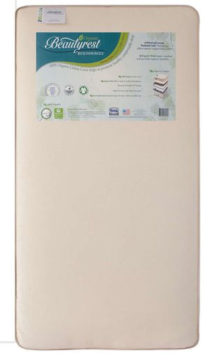 Organic Beautyrest Baby Infant and Toddler Crib Mattress for Sale in Milpitas, CA