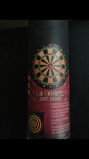 2-IN-1 MAGNETIC DART BOARD IN The Box Never USED! Great Game To Play In TheHouse Especially If You Have Kids for Sale in Vacaville, CA