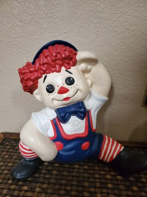 Vintage Raggedy Andy for Sale in Stockton, CA