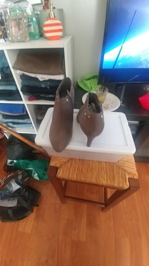 Brown boots shoe for Sale in Norfolk, VA