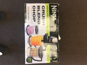 Ninja blender set master prep professional food processor crush, mince, dice, chop. for Sale in Pompano Beach, FL