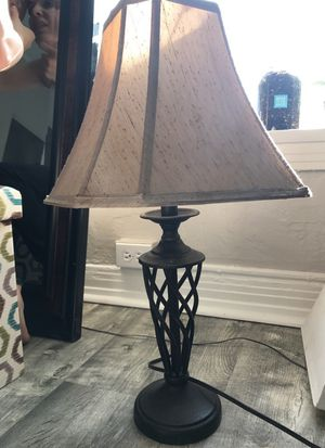 LAMP AND LAMP SHADE FROM POTERY BARN MUST GO for Sale in Los Angeles, CA