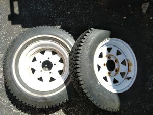 Trailer Tires, great condition! for Sale in St. Louis, MO