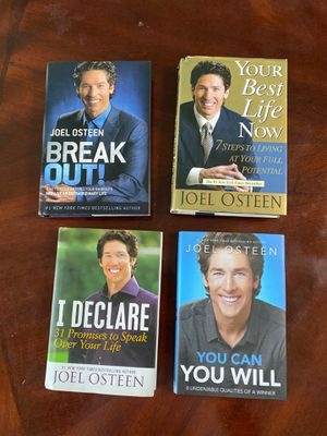 Joel Osteen Books for Sale in Romeoville, IL