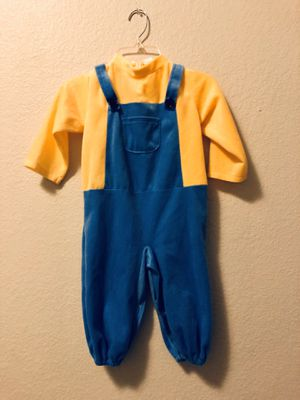 Baby/Toddler Despicable Me Minion Costume Pajama Onesie for Sale in Carrollton, TX