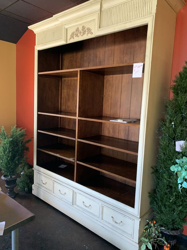 Very large Very large bookcase 8 ft high 8.10 ft H 6.6 L 1.10 ft D