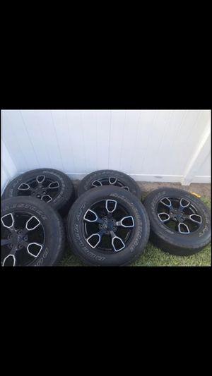 Jeep Wrangler Smokey mountain edition wheels for Sale in Winter Garden, FL