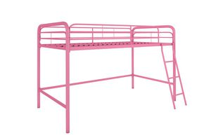 NEW twin pink metal junior loft bed for Sale in Surprise, AZ