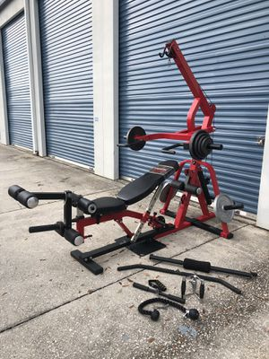 Powertec leverage system home gym for Sale in Oviedo, FL