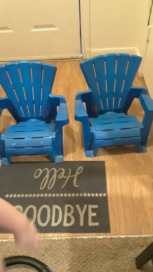 Kids patio chairs. for Sale in Centennial, CO
