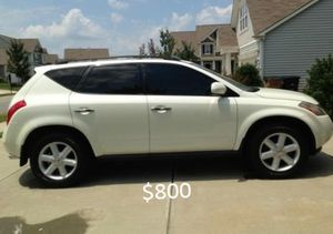 Crazy*Clean*Beautiful*2OO3 Nissan Murano for Sale in Worcester, MA