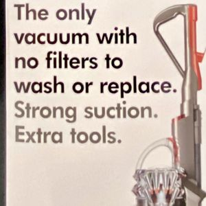 Dyson - Cinetic Big Ball Animal + Allergy Upright Vac - Iron/Nickel   Model:206033-01 for Sale in National City, CA