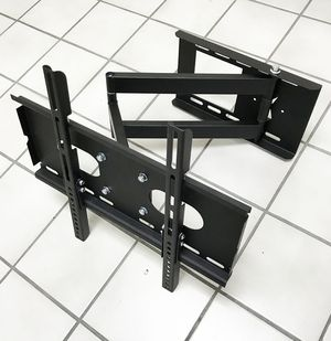 "New $25 Full Motion 23""-50"" TV Wall Mount Bracket 180 Degree Swivel Tilt, Max load 100Lbs for Sale in South El Monte, CA"