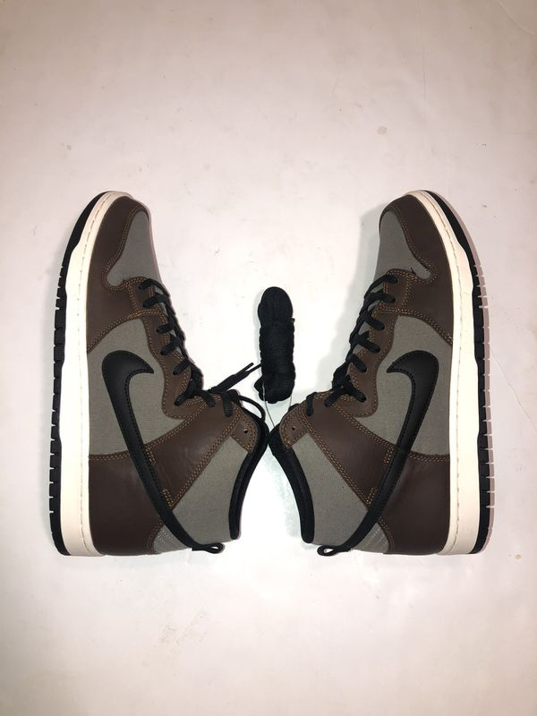 SB DUNK HIGH 'Baroque Brown' DS Size 12!!