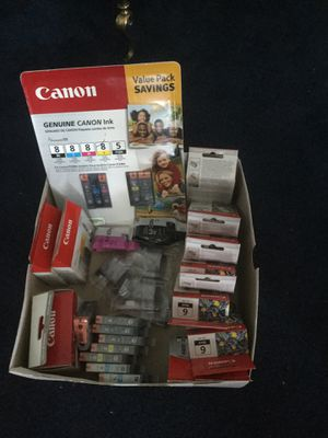 Canon printer ink. for Sale in Chicago, IL